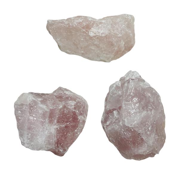 Rose Quartz Natural Gemstone Size Large For All Types of Love, Compassion, Self Esteem, ETC. (1 piece)
