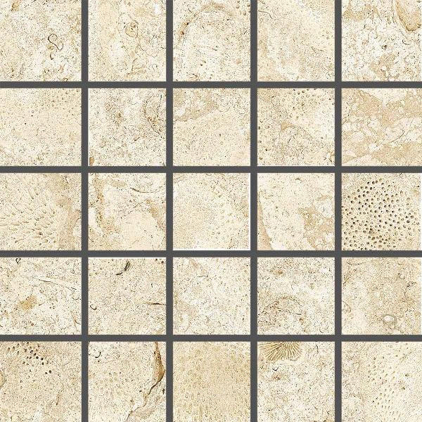 Coralina Belice Perla 2x2 Porcelain Mosaic 12x12 - EACH