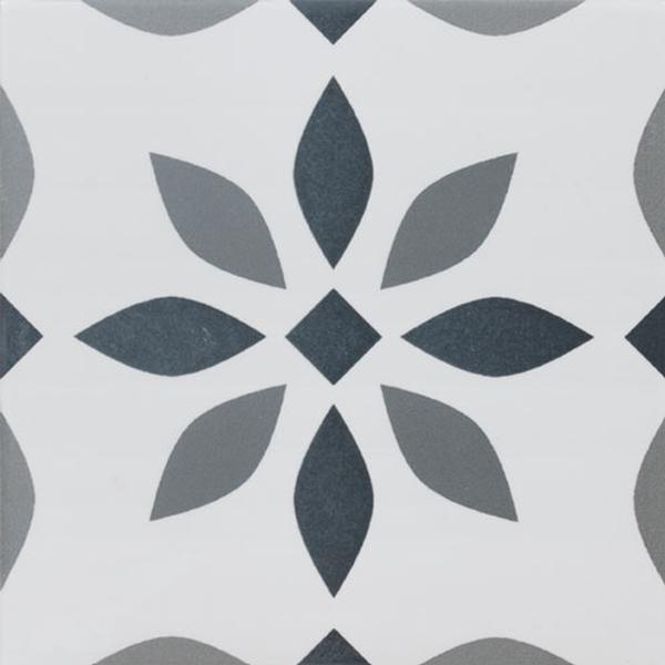 Denia Gris 9x9 Porcelain Tile - CASE