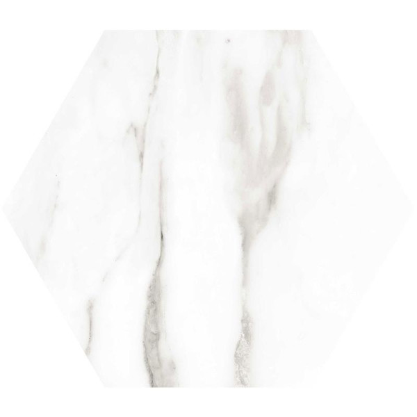 Venato Hex Porcelain Tile 11x13 - CASE