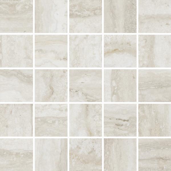 Flow Ice 2x2 Porcelain Mosaic 12x12 - EACH