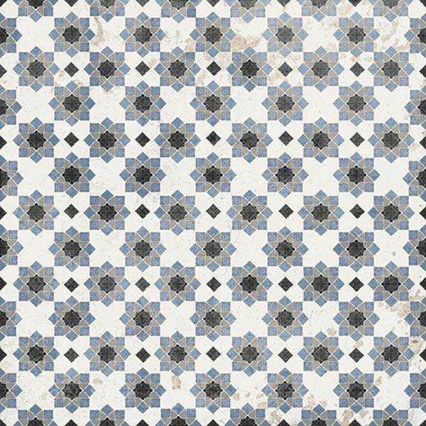 Vintage Decor 1 Porcelain Tile 8x8 - CASE