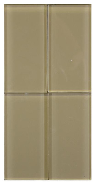 Jerusalem 8 mm Glass Tile 3x6 - EACH