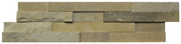 Mint Sandstone Stacked Ledger Panel 6x24 - EACH