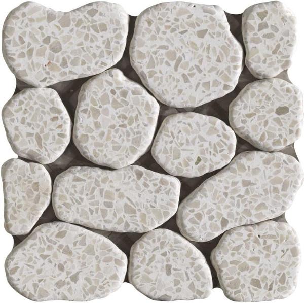 Terrazzo Beige Pebbles - EACH