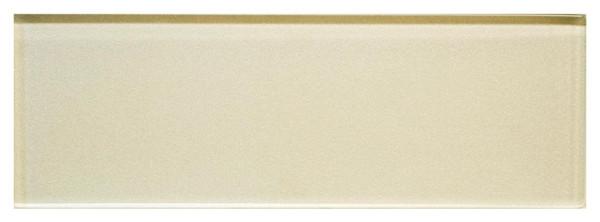 Cream Mist 8 mm Metallic Glass Tile 3x9 - EACH