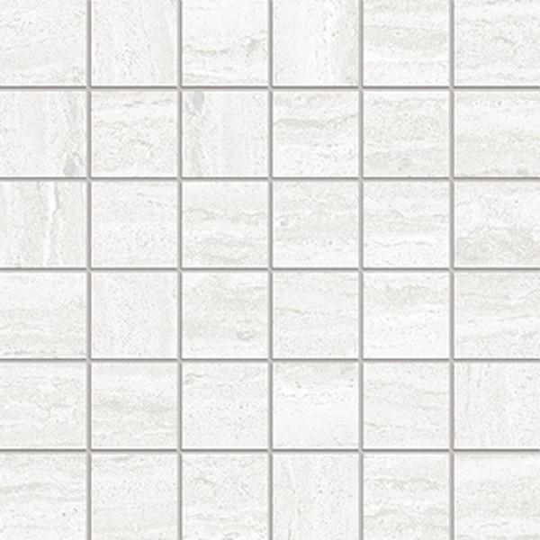 Tivoli Snow Matte 2x2 Porcelain Mosaic 12x12 - EACH