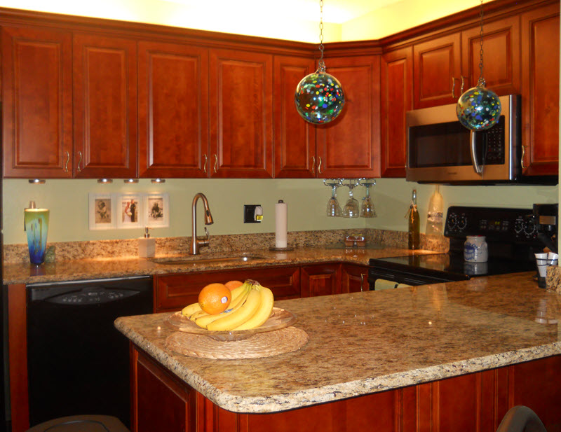 New cabinetry transforms a kitchen