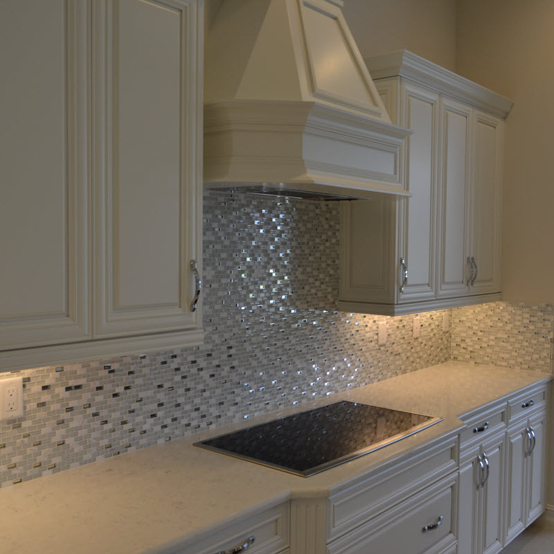 Another view of shimmery mixed mosaics