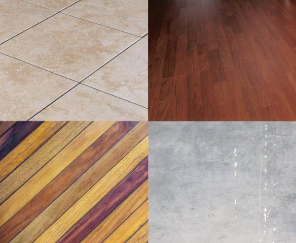One of the other benefits of luxury vinyl flooring is that it can go over many different types of floors