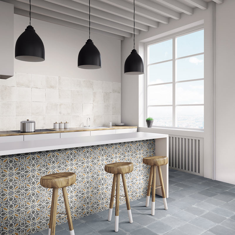 Different tile looks and types