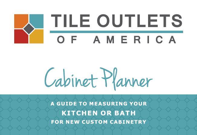 Download the Tile Outlets Cabinet Planner design guide.