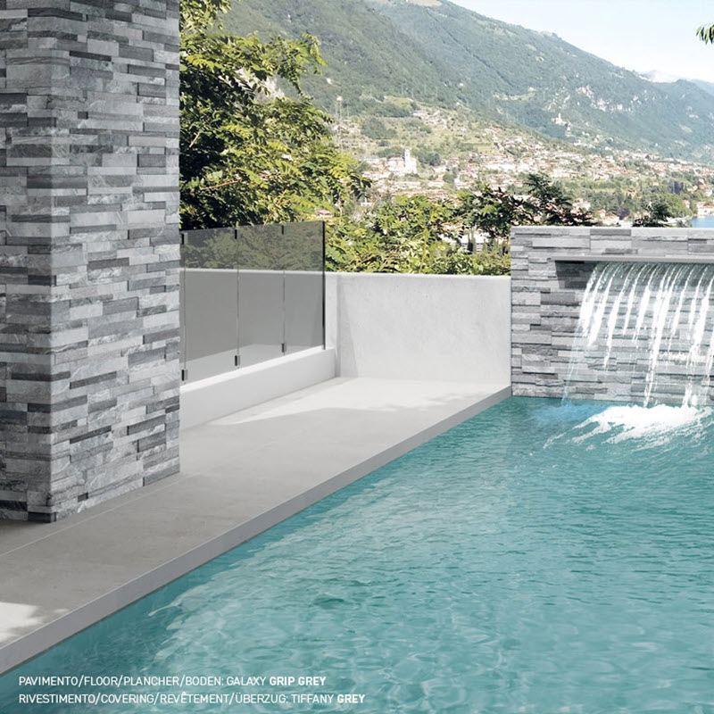 Add Drama with Ledgers to Your Outdoor Waterfall Oasis.