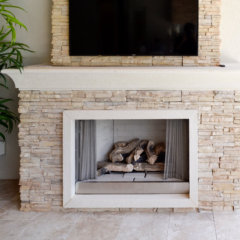 A Closeup of that Fireplace