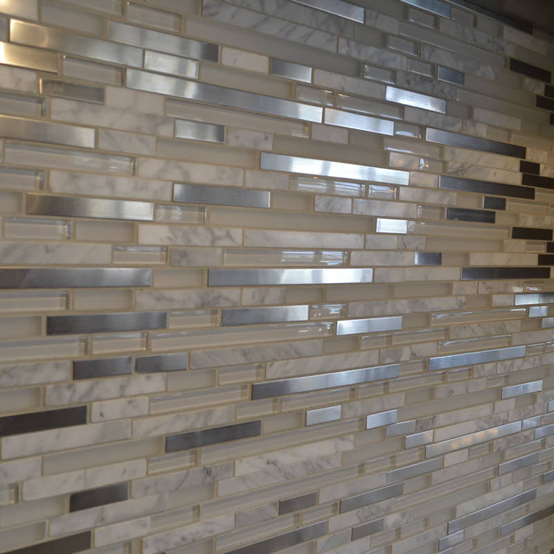 Glass, Stone and Metal Mosaic
