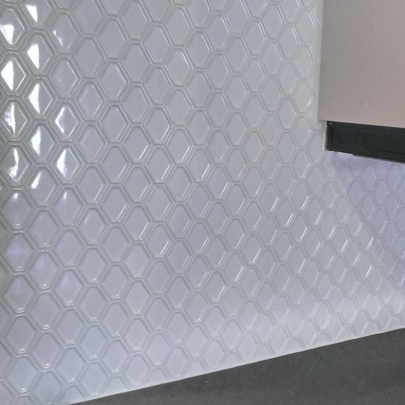 Ceramic Diamond Mosaic