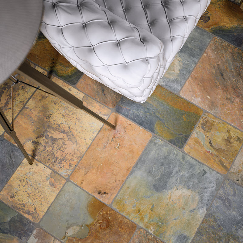 Use a Dramatic Tile for Your Pattern