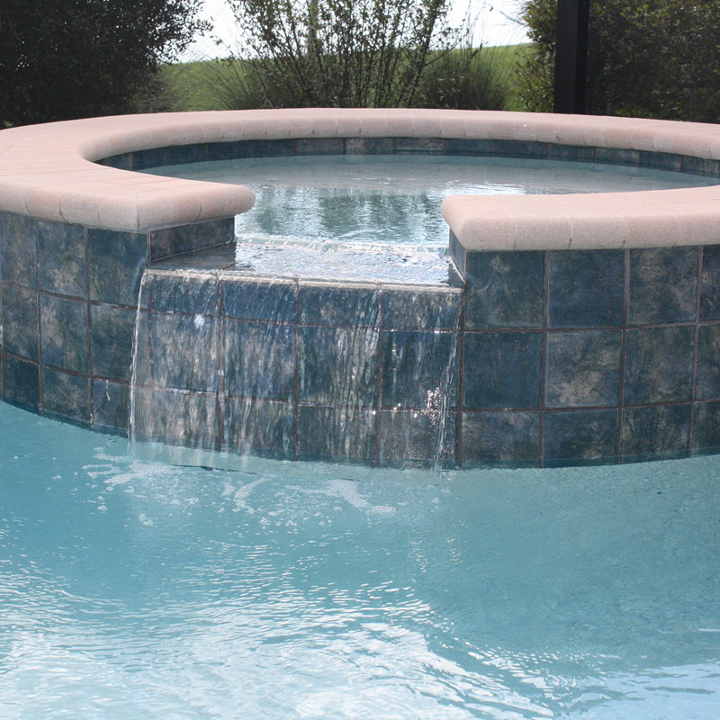 Porcelain Pool Tile Ideas
