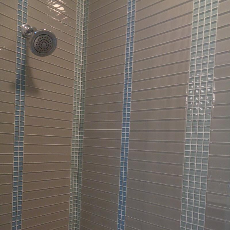 Alternate Subway Tile with 1x1 mosaic