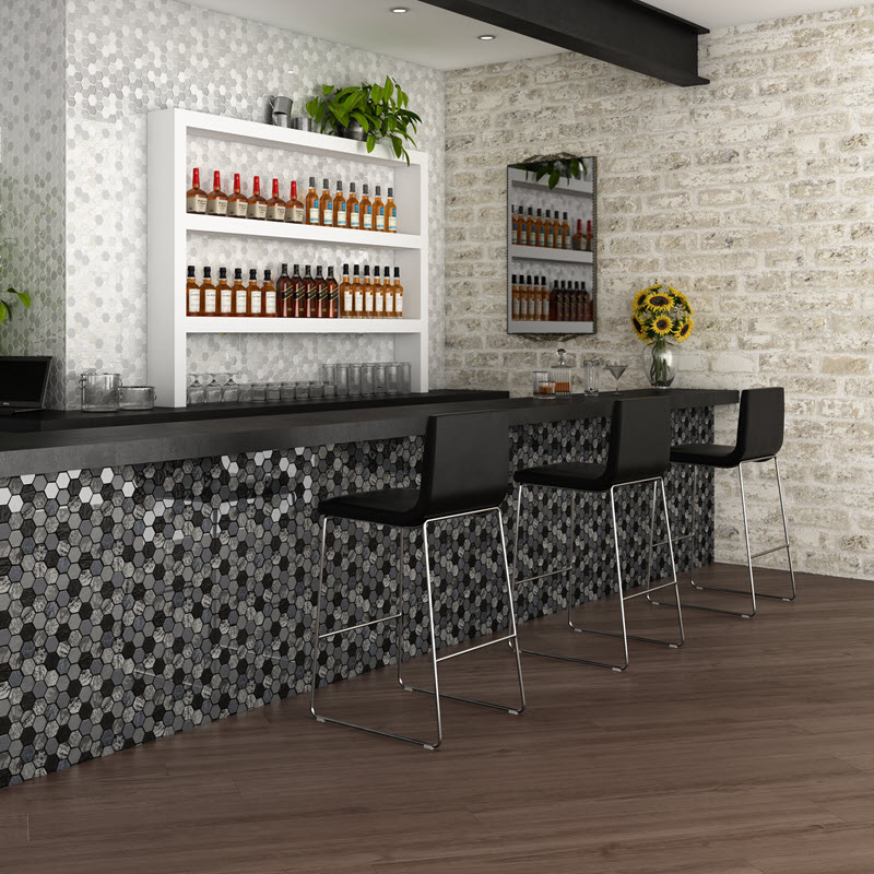 Ceramic Mosaic Wall Tile