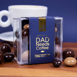 'Dad Needs Coffee'. Assorted Luxury Coffee Chocolate Box