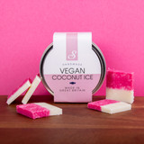 Handmade Vegan Coconut Ice Fudge Tiles