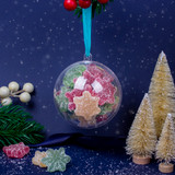 Bauble with Fizzy Vegan Snowflake Gummies