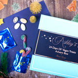 Personalised 24 Days Of Vegan Sweet Treats Advent Box