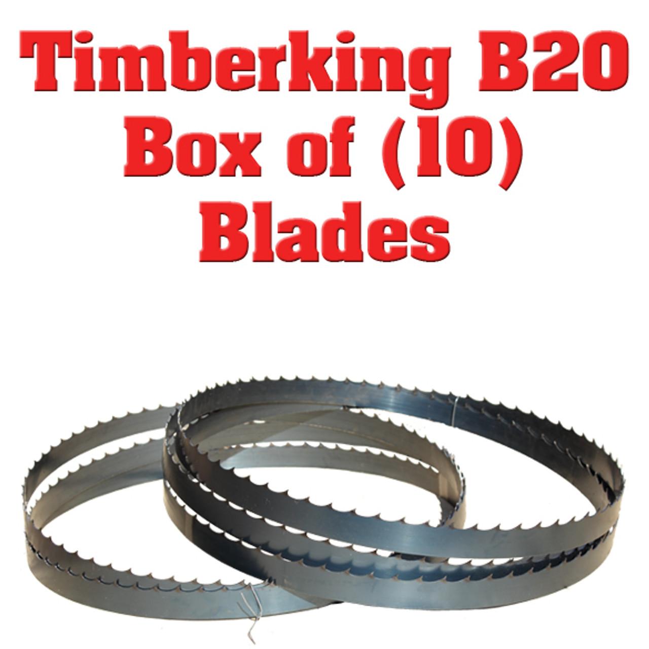 """Wood-Mizer Bandsaw Blade 12/'6 150/"""" x 1-1//4 x 042 x 7//8 10° Band Saw Mill blades"""