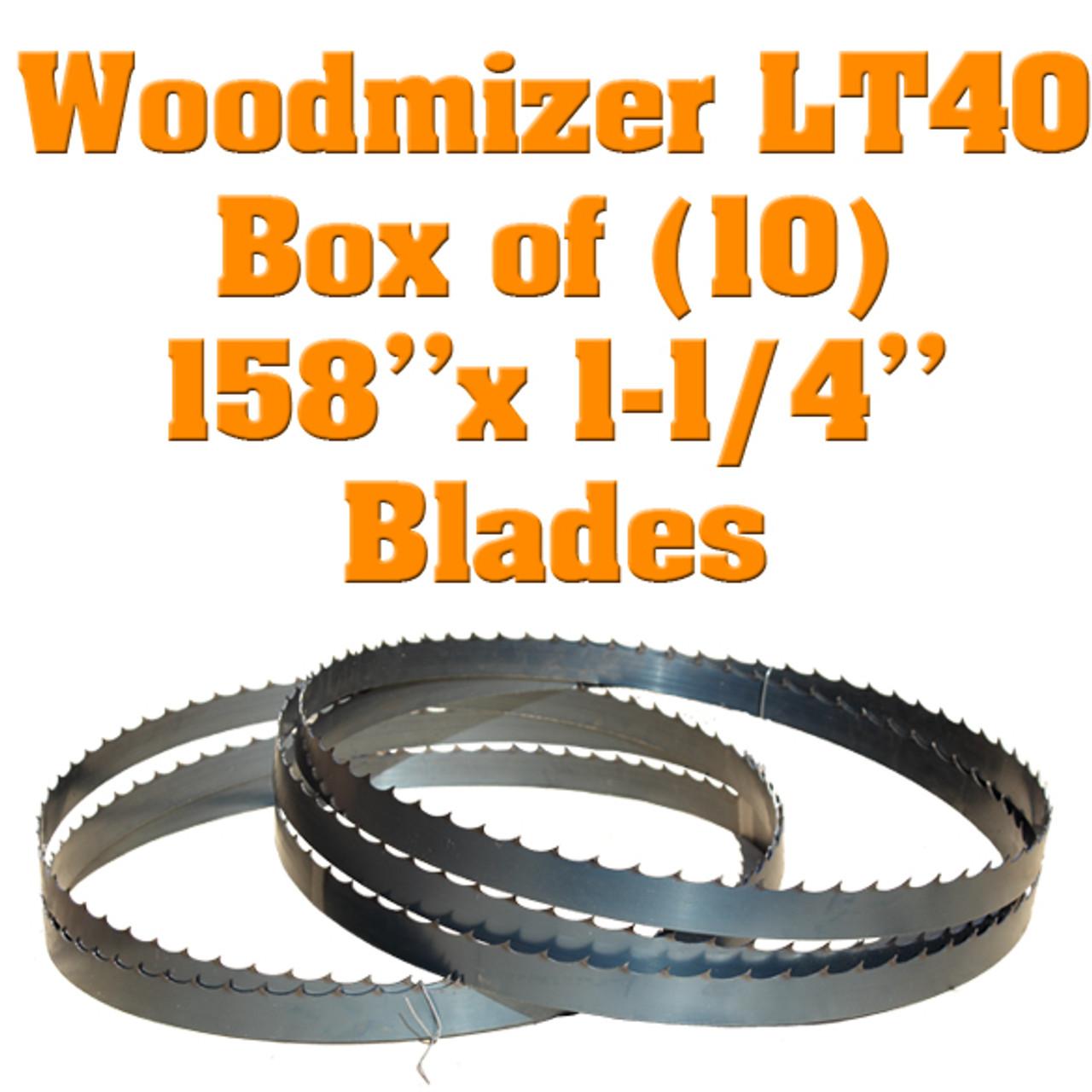 Box of 10 Blades Woodmizer LT40