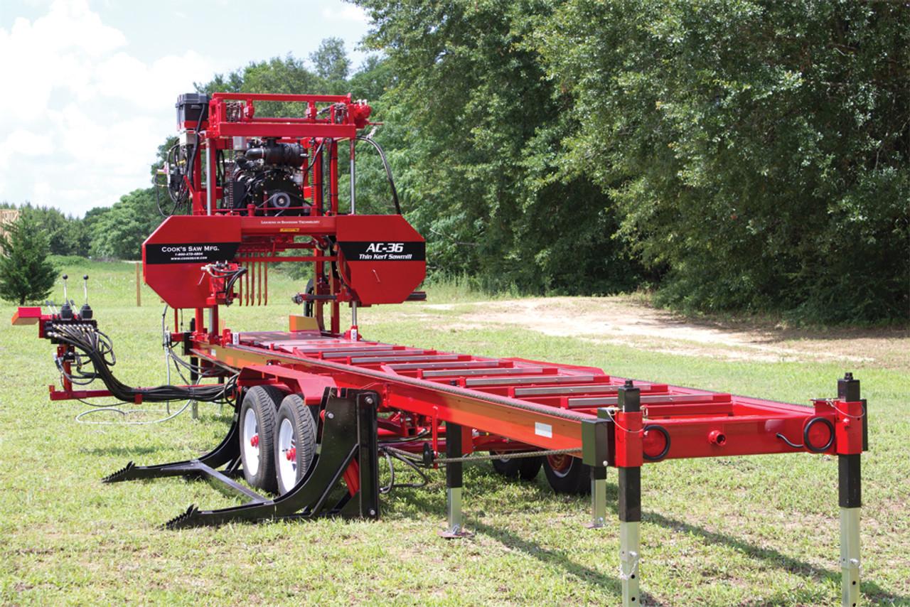 Portable Sawmill For Sale >> Ac 36 Portable Hydraulic Sawmill