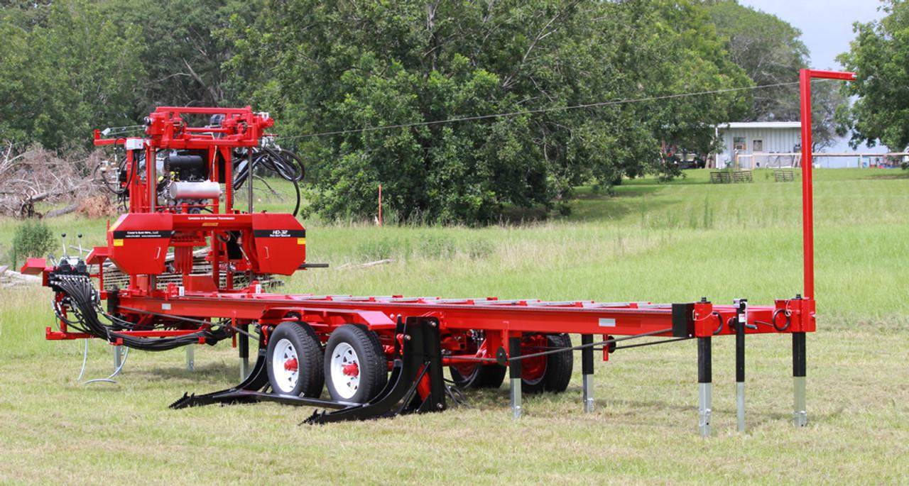 Used Portable Sawmills For Sale >> Hd3238 Hydraulic Portable Sawmill