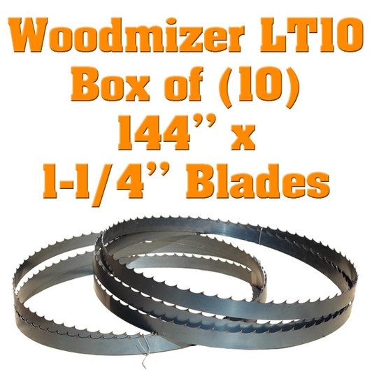 Bandsaw blades for Harbor Freight sawmills by Cooks Saw
