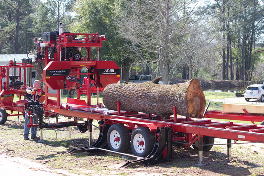 Portable Sawmill parts and bandsaw blades from Cook's Saw
