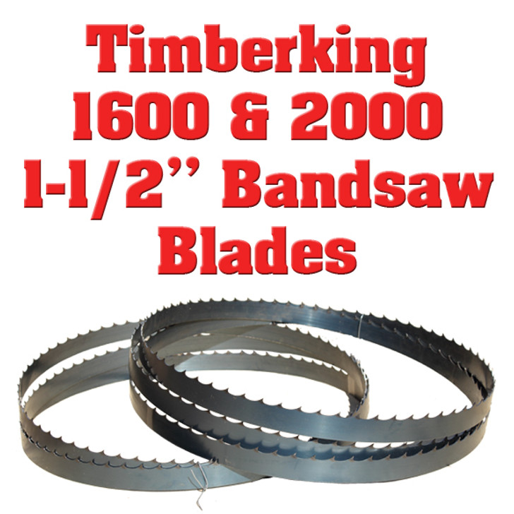 "1-1/2"" blades for the Timberking 1600 and 2000"