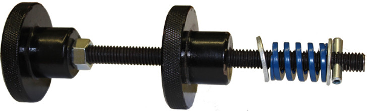 door rod and knob assembly