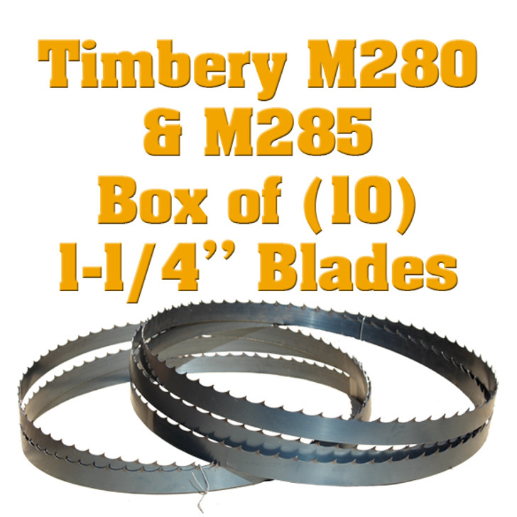Bandsaw blades for Timbery M280 and M285