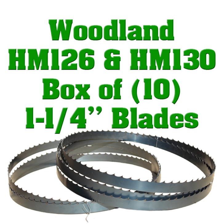 Bandsaw blades for Woodland sawmills
