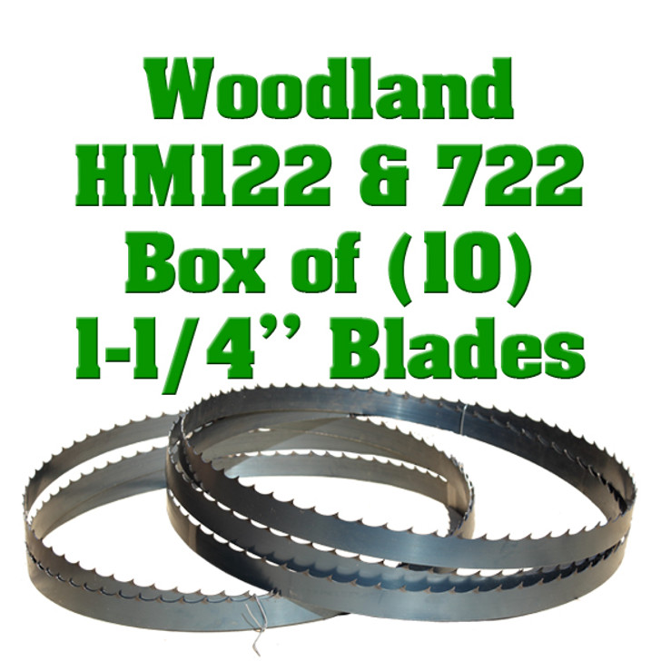 Woodland HM122 and 722 blades