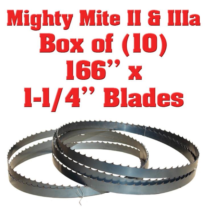 Might Mite bandsaw blades