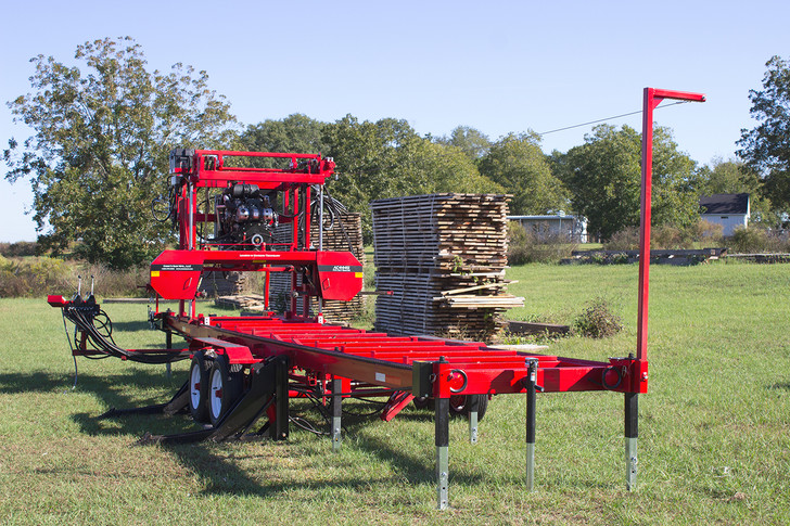AC4449 Wide Cut Portable Sawmill
