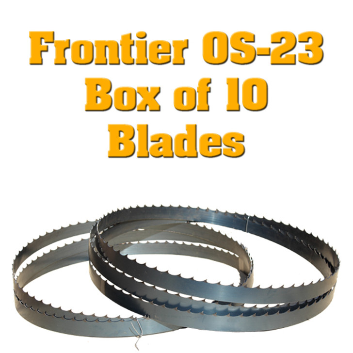 Frontier OS-23 bandsaw blades