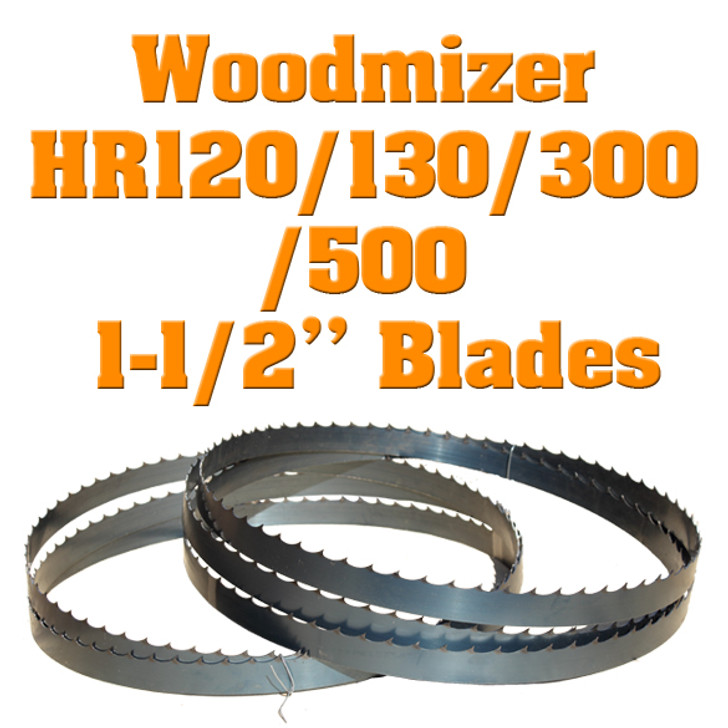 Woodmizer 1-1/2 blades for HR120 resaw