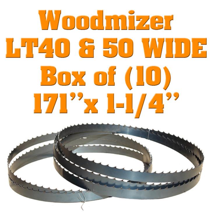 Woodmizer LT40 wide blades