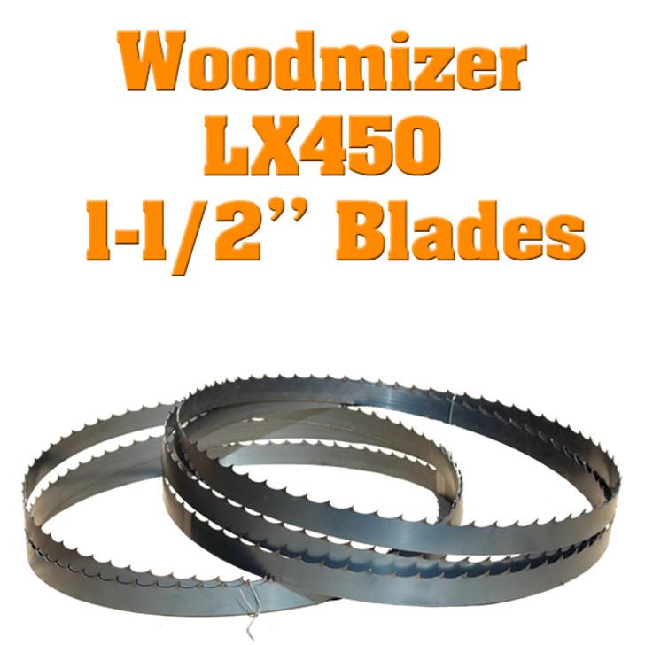 blades for Woodmizer lx450 sawmill