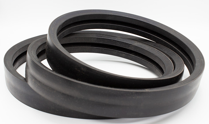 double banded drive belt