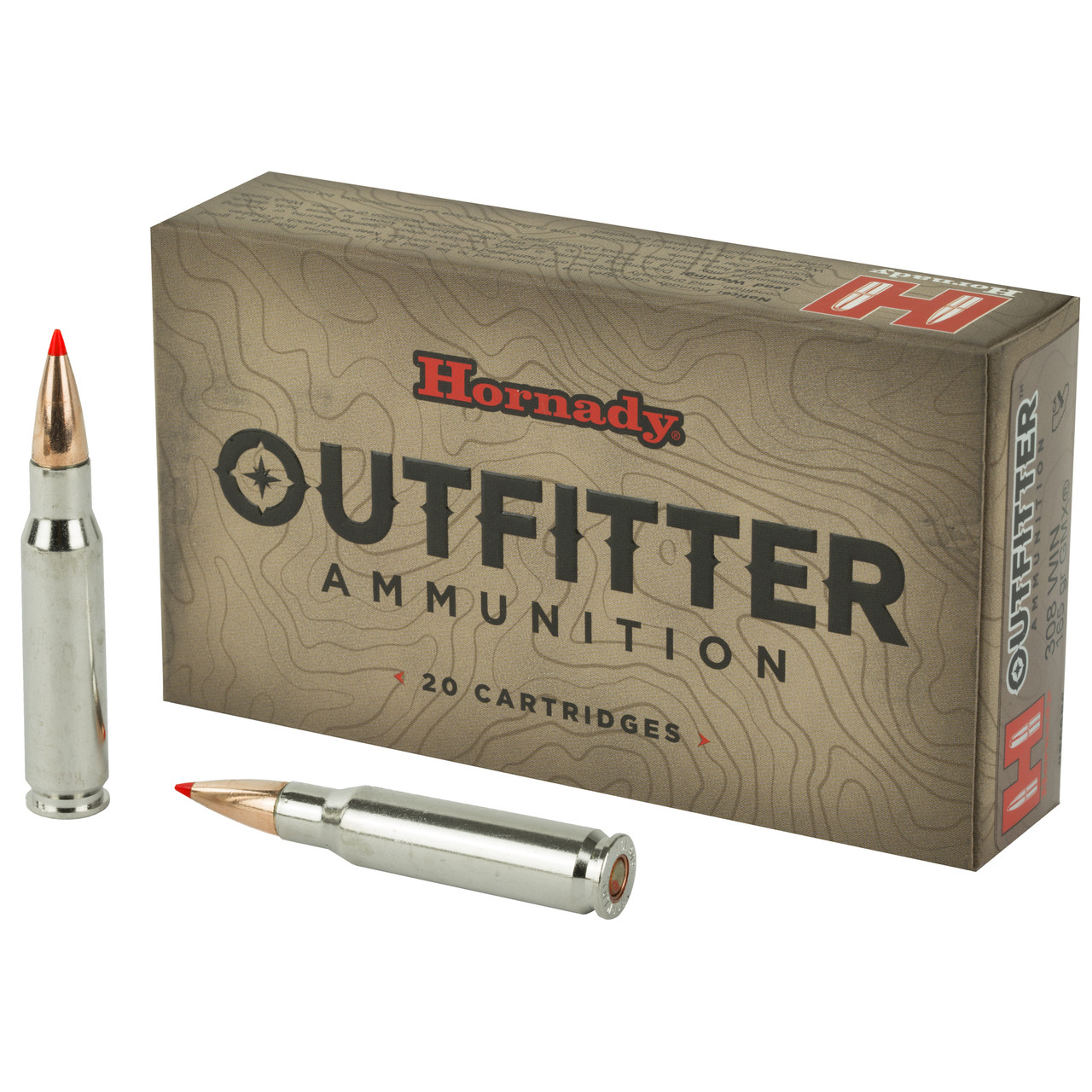 Hornady Outfitter 308 Winchester 165 Grain GMX 20Rd Box 80986 - Ships  Within 24 Hours!