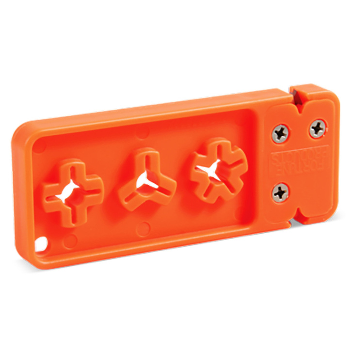 AccuSharp Broadhead Sharpener  Orange 013C
