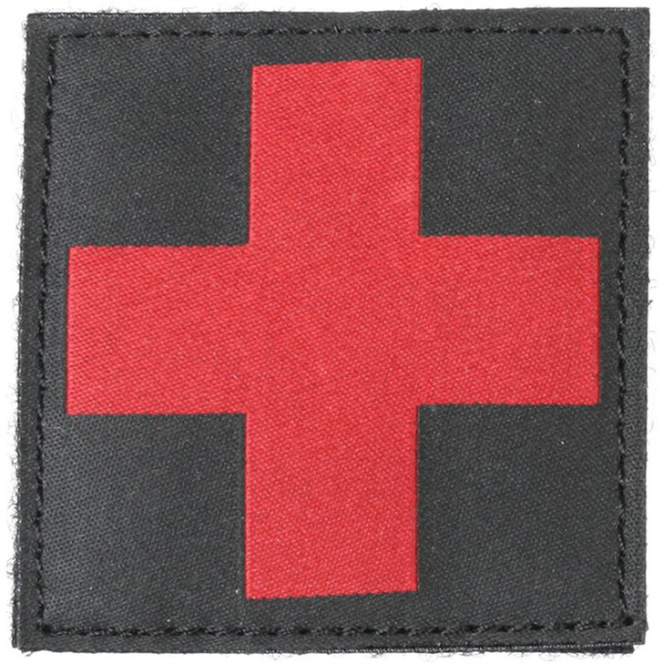 Bh Redcross Id Patch Blk