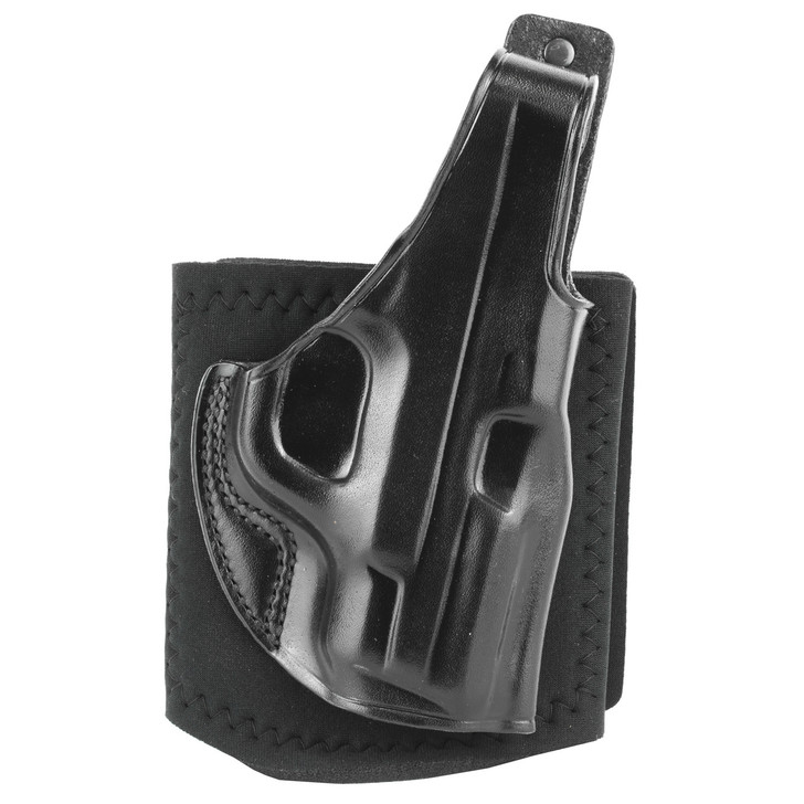 Galco Ankle Glove Ankle Holster  Fits S&W Shield 9/40  Right Hand  Black Finish AG652B